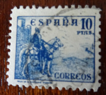 &171& ESPAÑA SPAIN EDIFIL 831, YVERT 589A, , MICHEL 780 II VERY FINE USED. HORSE. CID.. - 1931-Aujourd'hui: II. République - ....Juan Carlos I