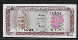 Sierra Leone - 50 Cents - Pick N°4e - NEUF - Sierra Leone