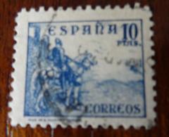 &171C& ESPAÑA SPAIN EDIFIL 831, YVERT 589A, , MICHEL 780 II VERY FINE USED. HORSE. CID.. - 1931-Hoy: 2ª República - ... Juan Carlos I
