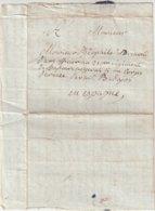 FRANCE : MP . PLI TRANSMIS PAR UN MILITAIRE . AU 5 ème CORPS D'ARMEE EN ESPAGNE A BADAJOS . 1811 . - Marcophilie (Lettres)