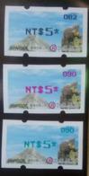 Black, Red & Green Imprint Of 2019 Formosan Serow ATM Frama Stamps  - Goat Mount Unusual - Philatelie & Münzen