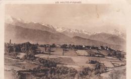 [65] Hautes Pyrénées > Capvern Les Bains  Chaîne Des Pyrénées Vue De La Route De Bouridé - Francia