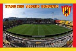 CARTE DE STADE .BENEVENTO   ITALIE   STADIO  CIRO VIGORITO      # CS. 358 - Fútbol