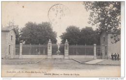 69 - BRON / ENTREE DE L'ASILE - Bron