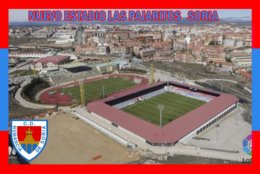 CARTE DE STADE .SORIA   ESPAGNE  NUEVO  ESTADIO LAS PAJARITOS     # CS. 361 - Football