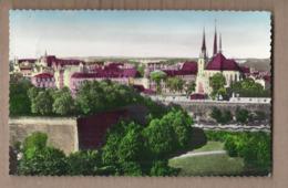 CPSM LUXEMBOURG - La Cathédrale - TB PLAN EDIFICE + Jolie Vue De La Ville - Luxemburg - Town