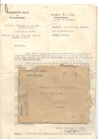 Guerre 40/45 - Lot De Documents Du Commissariat Belge Au Rapatriement - Prisonnier, Camp De KOCHENDORF (b269) - 1939-45
