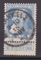 N° 76  MORLANWELZ - 1905 Thick Beard
