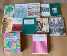 Lot De Livres Auvergne - Boeken, Tijdschriften, Stripverhalen
