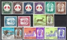 Abu Dhabi, N° 26 à 37 * - Charnière - - Abu Dhabi