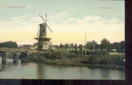Den Bosch - Willemsbrug - Molen - 1915 Pr - 's-Hertogenbosch