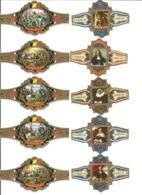 Oude Sigarenbandjes (zie Scan) - Bauchbinden (Zigarrenringe)