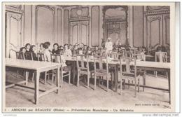 69 - AMIGNIE Par BEAUJEU / PREVENTORIUM MAUCHAMP - UN REFECTOIRE - Beaujeu