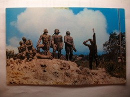 "Carte Postale Haiti - ""Heros De Vertieres"" Cap Haïtien  ( Petit Format Couleur Circulée ) - Haiti"