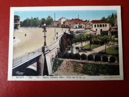 CPA  MURET  LE SQUARE CLEMENT ADER - Muret