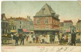 Leeuwarden 1904; Oude Waag - Gelopen. (Uitgever?) - Leeuwarden