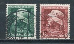 Deutsches Reich 569/70 Gestempelt Mi. 4,- - Gebraucht