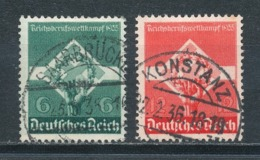 Deutsches Reich 571/72 Gestempelt Mi. 3,60 - Gebraucht