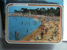 Frankrijk France Frankreich Var Saint-Aygulf Plage - Saint-Aygulf