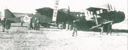 PHOTO AVION BLOCH 200 N°27 EX 6B 1/39.REMIS EN ETAT AUX COULEURS FAFL  1942  RETIRAGE 15X7CM - Aviation