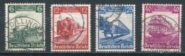 Deutsches Reich 580/83 Gestempelt Mi. 6,50 - Gebraucht