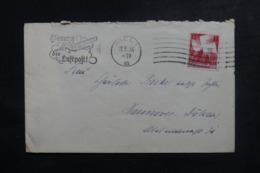 ALLEMAGNE - Enveloppe De Kiel Pour Hannover En 1936, Affranchissement Plaisant - L 47265 - Allemagne