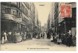 PARIS XI° Rue Des Trois Bornes Ed. C.P. 792 - Distretto: 11