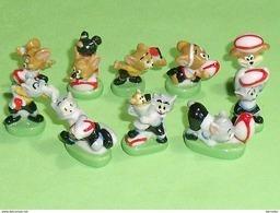 Série De Feves Complète : Tom Et Jerry , Rugbymen - Cartoons