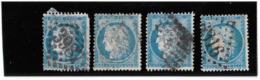 TIMBRE 60/1   ;  GRANDE CASSURE N°141 A2; DIFFÉRENTS ÉTATS, RARE TTB - 1871-1875 Cérès