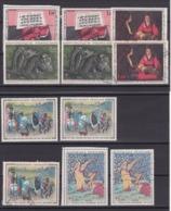 TIMBRE FRANCE/N° 1457/1458/1459/1478/1479/1492/1493/1494 NEUF SANS CHARNIERE ET OBLITERE COTE 9.50  EURO - Autres