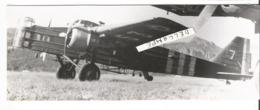 PHOTO AVION BLOCH 210  N°154  17X6CM - Aviazione