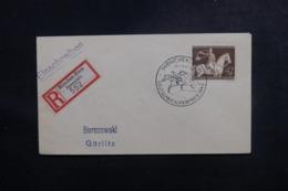ALLEMAGNE - Affranchissement Plaisant Sur Enveloppe En Recommandé De München En 1943 - L 47269 - Allemagne