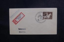 ALLEMAGNE - Affranchissement Plaisant Sur Enveloppe En Recommandé De München En 1943 - L 47270 - Allemagne