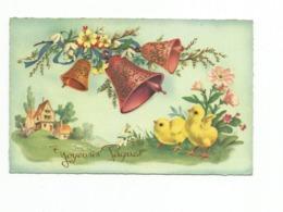 PAQUES - Jolie Carte Fantaisie - Pâques