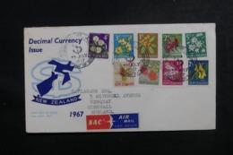 NOUVELLE ZÉLANDE - Enveloppe FDC En 1967 - Decimal Currency - L 47271 - FDC
