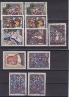 TIMBRE FRANCE/N° 1376/1377/1398/1399/1413/1419  NEUF SANS CHARNIERE ET OBLITERE COTE 19  EURO - Autres