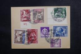 ALLEMAGNE - Affranchissement Plaisant De Berlin Sur Entier Postal En 1942 - L 47272 - Allemagne