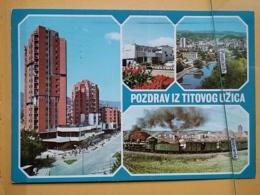 KOV 103-4 - TITOVO UZICE, SERBIA, RAILWAY, TRAIN - Serbia