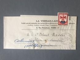 "France N°758 Seul Sur Bande Journal ""La Versaillaise"" 1948 - (B2538) - 1921-1960: Periodo Moderno"