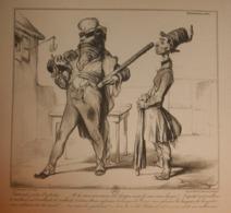 Caricature De Daumier. 1926 - Prenten & Gravure