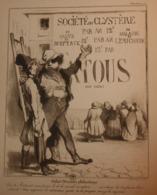 Caricature De Daumier. Robert Macaire, Philantrope. 1926 - Prenten & Gravure