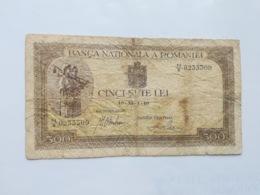 ROMANIA 500 LEI 1940 - Romania