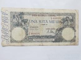 ROMANIA 100000 LEI 1946 - Romania