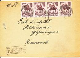 Poland Cover Sent To Denmark 23-12-1959 - 1944-.... Republic