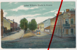 Kaunas Kowno Kauen - Kaiser-Wilhelm-Straße - 1918 - LIR 103 - Lituanie