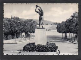 ATHENES . DISCOBOLE ET STADE . CPSM Grd Format Année 1950  EDIT DELTA - Olympic Games