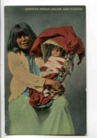 C 395  -  Mexican Indian Squaw And Papoose - Mexique