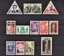 MONACO 1951 -  Y.T. SERIE N° 353 A 364 - 12 TP NEUFS** - Monaco