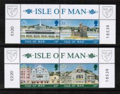 "ISLE Of MAN   Scott # 331-4a** 1987 ""EUROPA"" VF MINT NH SE-TENNANT PAIRS (LG-1191) - Europa-CEPT"
