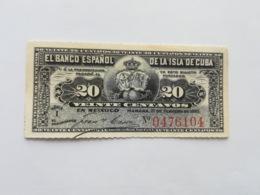 CUBA 20 CENTAVOS 1897 - Cuba